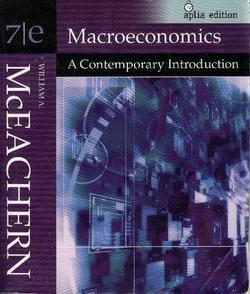 9780324548266: Macroeconomics: A Contemporary Introduction