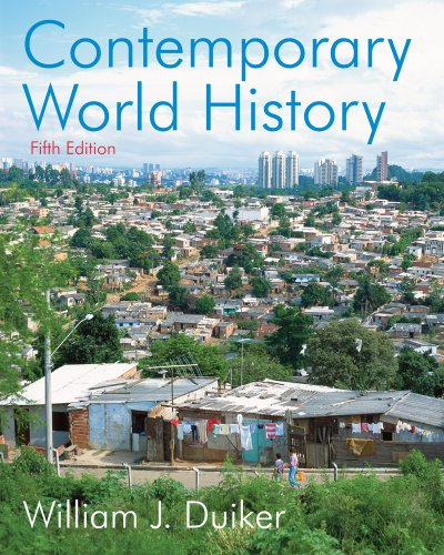 9780324554946: Bundle: Contemporary World History, 5th + Resource Center Printed Access Card