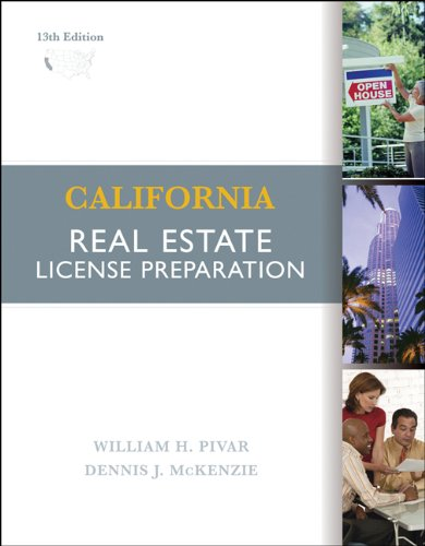 9780324560602: California Real Estate License Preparation