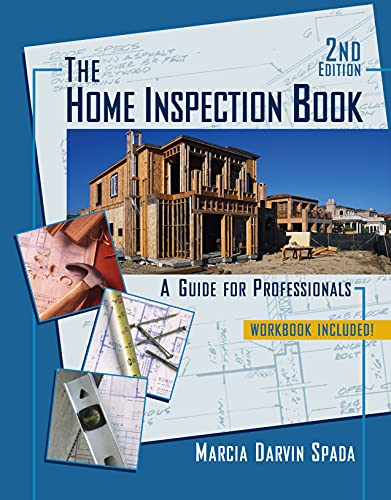 Home Inspection Book: A Guide for Professionals (9780324560633) by Marcia Darvin Spada