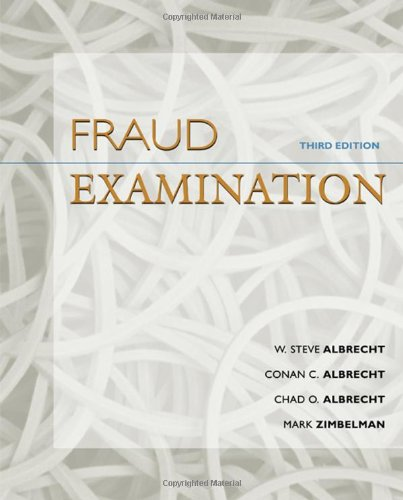 9780324560848: Fraud Examination - Third Edition