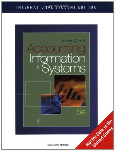 9780324560930: Accounting Information Systems (6th International Edition)