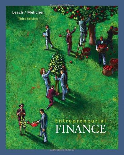 Entrepreneurial Finance: J. Chris Leach,