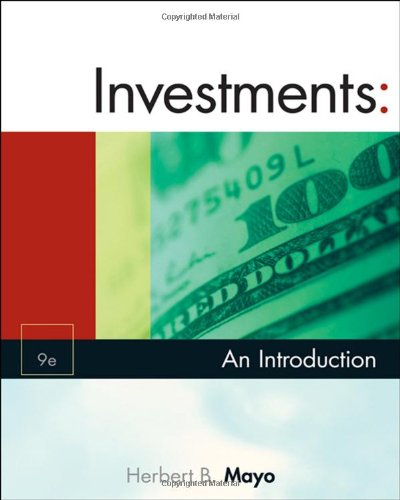 9780324561265: Investments: An Introduction (with Thomson ONE - Business School Edition and Stock-Trak Coupon) (Available Titles CengageNOW)
