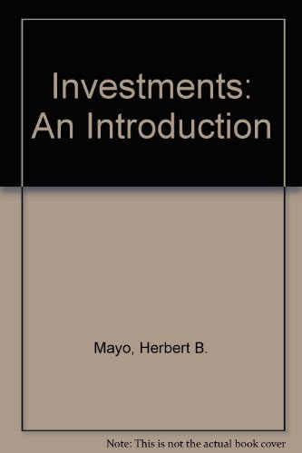 9780324561388: Investments: An Introduction (Book Only)