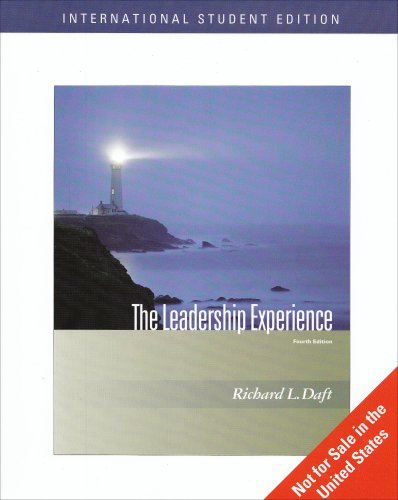 9780324568318: The Leadership Experience