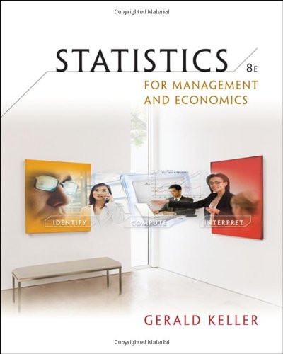9780324569490: Statistics for Management and Economics (with CD-ROM) (Available Titles Aplia)