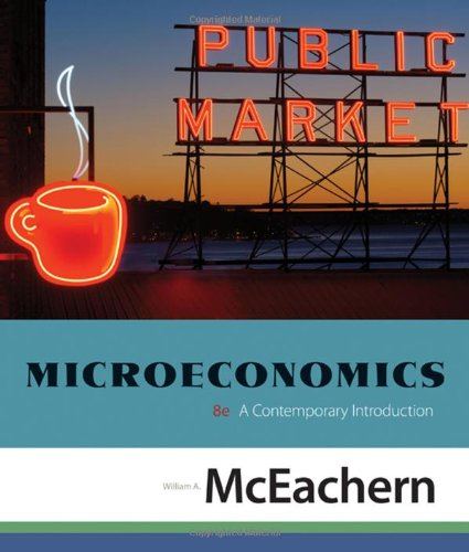 9780324579512: Microeconomics: A Contemporary Introduction (Available Titles Aplia)