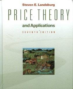 9780324579932: Price Theory and Applications (Book Only)