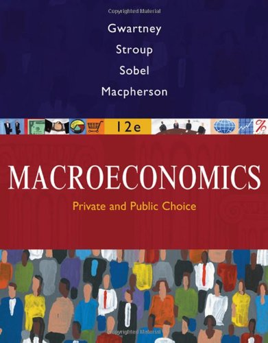 9780324580198: Macroeconomics: Public and Private Choice
