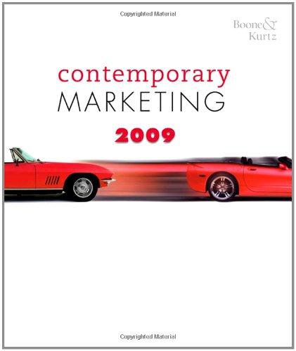 9780324580211: Contemporary Marketing 2009