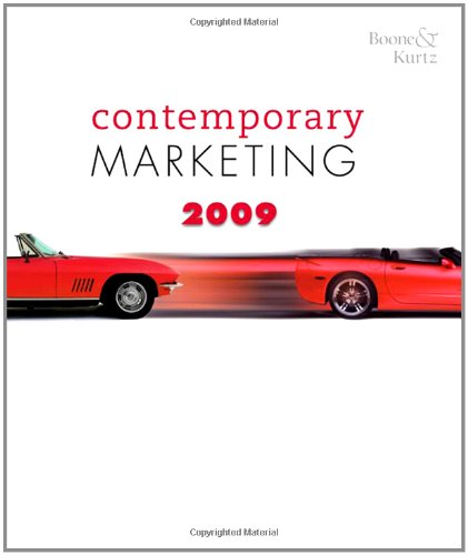 9780324580211: Contemporary Marketing 2009 Update (Available Titles CengageNOW)