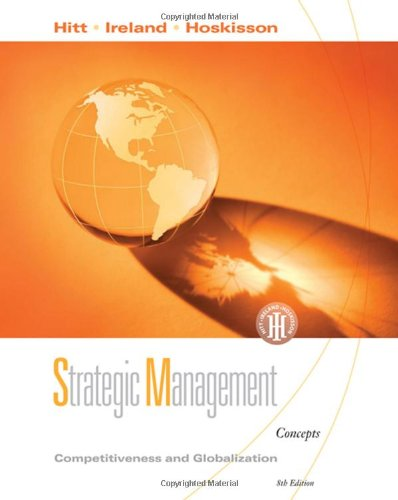 9780324581126: Strategic Management: Competitiveness and Globalization, Concepts