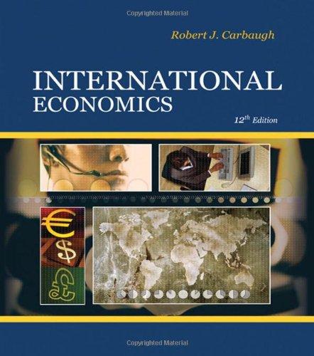 9780324581485: International Economics