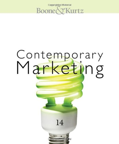 Contemporary Marketing (Hardback): Louis E Boone, David L Kurtz