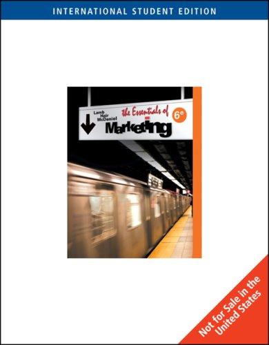 9780324584424: Essentials of Marketing (6th International Edition)
