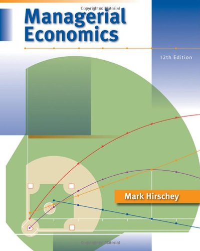 9780324584844: Managerial Economics (with InfoApps 2-Semester Printed Access Card)