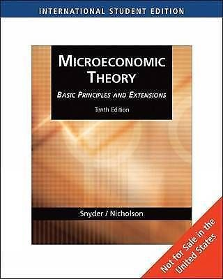 9780324585377: Microeconomic Theory 10th Edition (International Edition Paperback)