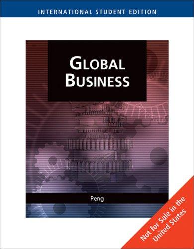 9780324585940: Global Business