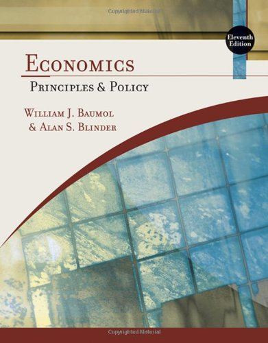 9780324586206: Economics: Principles and Policy (Available Titles Aplia)