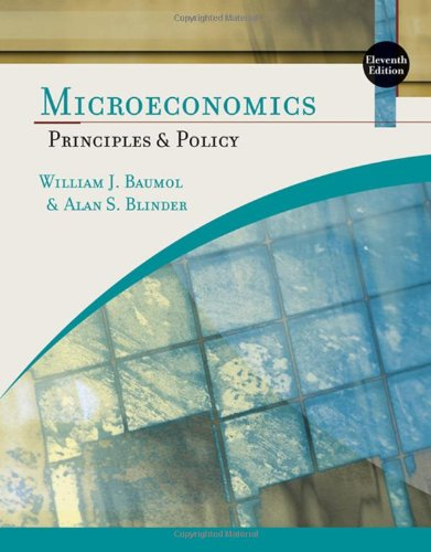 9780324586220: Microeconomics: Principles and Policy (Available Titles Aplia)
