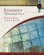 Study Guide for Baumol/Blinder's Economics: Principles and: William J. Baumol,