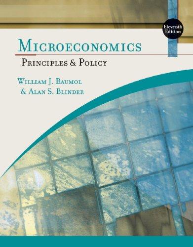 Study Guide for Baumol/Blinder?s Microeconomics: Principles and: Baumol, William J.;