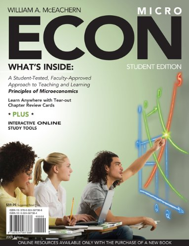 9780324587388: ECON for Microeconomics (with Premium Web Site Printed Access Card)