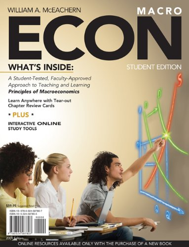 ECON for Macroeconomics (with Premium Website Printed: William A. McEachern