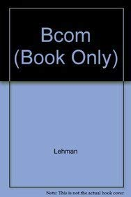9780324587890: BCOM (Book Only)