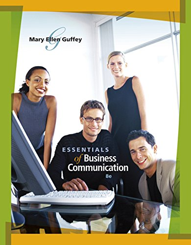 9780324587999: Essentials of Business Communication (Book Only)