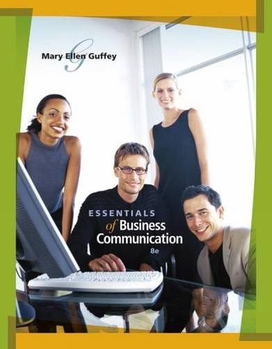9780324588002: Essentials of Business Communication (with www.meguffey.com Printed Access Card)