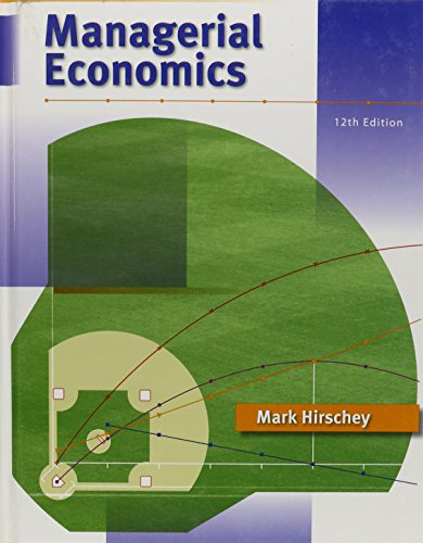 9780324588866: Managerial Economics (Book Only)