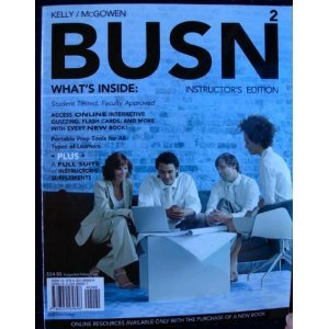 BUSN2 INSTRUCTOR'S EDITION: Marce & Jim McGowen Kelly