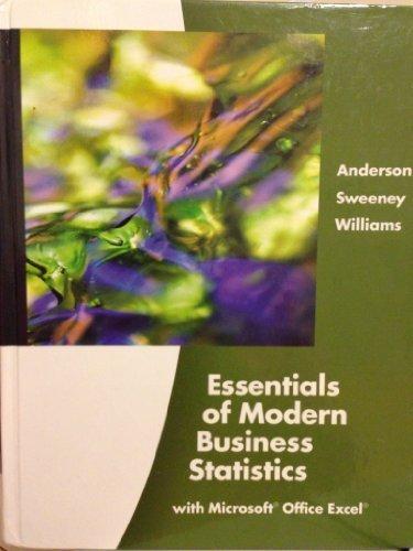 9780324590043: Essentials of Modern Business Statistics (Book Only)
