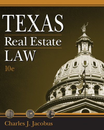 9780324592481: Texas Real Estate Law