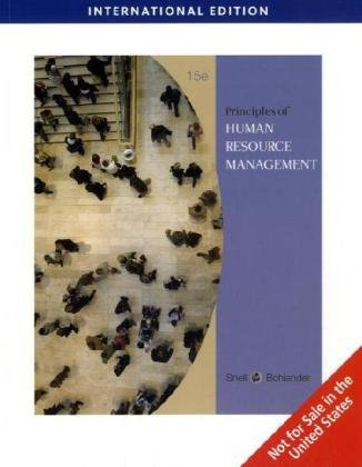 9780324593303: Human Resource Management, International Edition