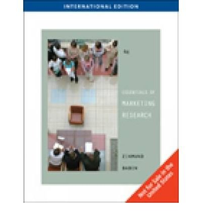9780324593754: Essentials of Marketing Research (Book Only)