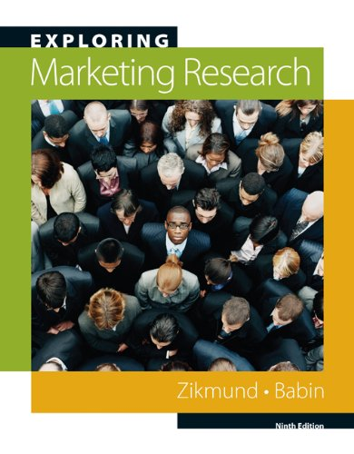 9780324593761: Exploring Marketing Research (Book Only)