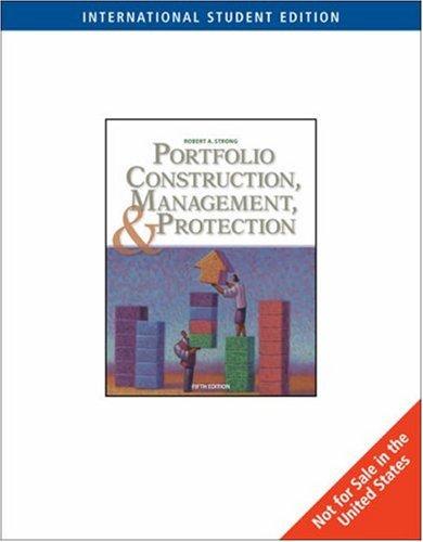 9780324593891: Portfolio Construction, Management, and Protection