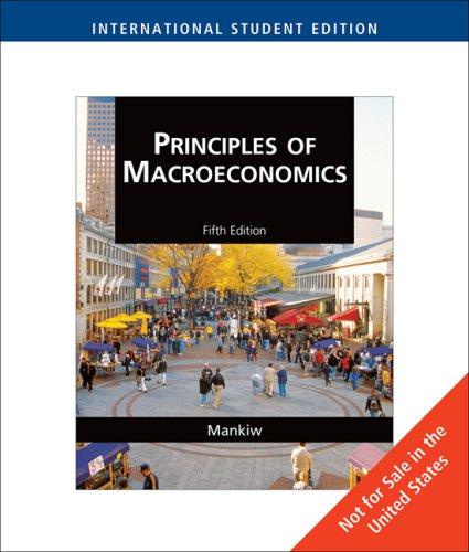 9780324594669: Principles of Macroeconomics, International Edition