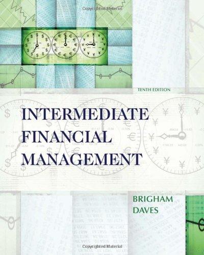 9780324594713: Intermediate Financial Management (Book Only)