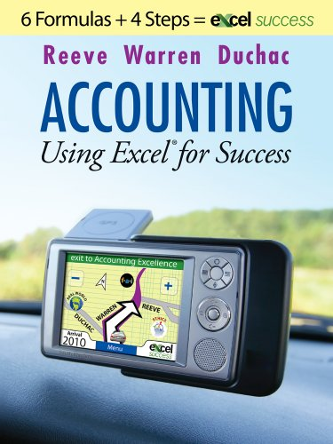 9780324596564: Accounting Using Excel  for Success: Using Microsoft® Accounting Pro and Excel®