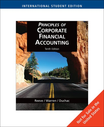 9780324596694: Principles of Corporate Financial Accounting, International Edition