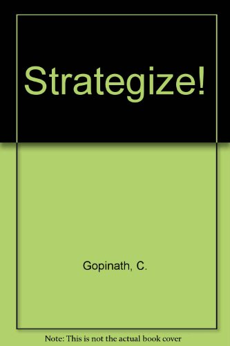 9780324597134: Strategize! (Book Only)