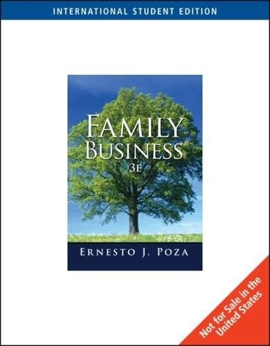 9780324598049: Family Business