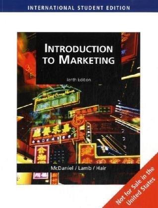 9780324599312: Introduction to Marketing, International Edition