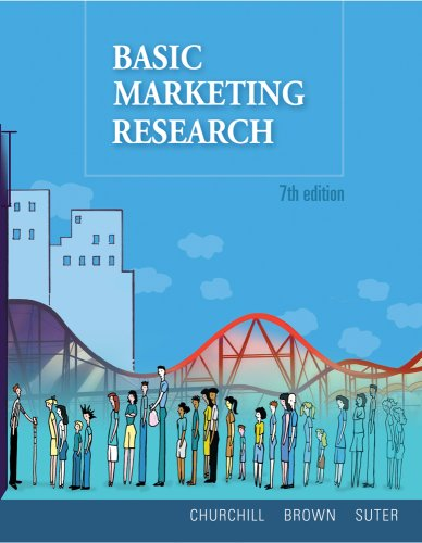9780324599343: Basic Marketing Research (Book Only)