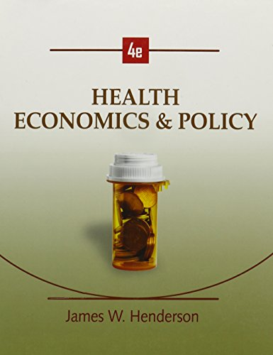 9780324599350: Health Economics and Policy (Book Only)