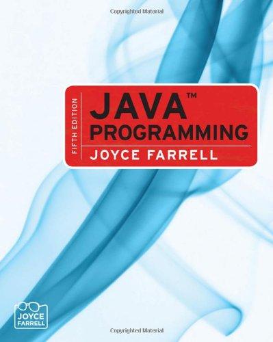 9780324599510: Java Programming
